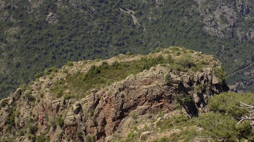 Le piton 1146m vu du sommet du Capu a e Poste bis