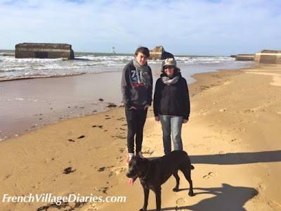 French Village Diaries family day out on La Grande-Côte, Charente-Maritime