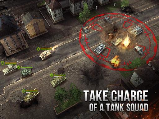 Armor Age: Tank Wars — WW2 Platoon Battle Tactics  άμαξα προς μίσθωση screenshots 2