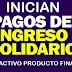 ¿No tiene producto financiero activo para el Ingreso Solidario?