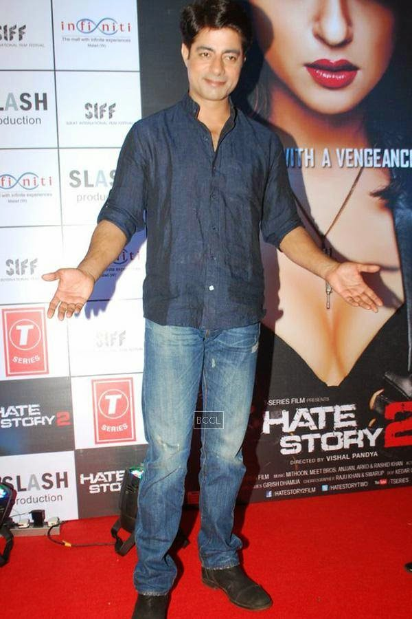 Sushant Singh during the promotion of Bollywood movie Hate Story 2, held in Mumbai, on July 12, 2014. (Pic: Viral Bhayani)