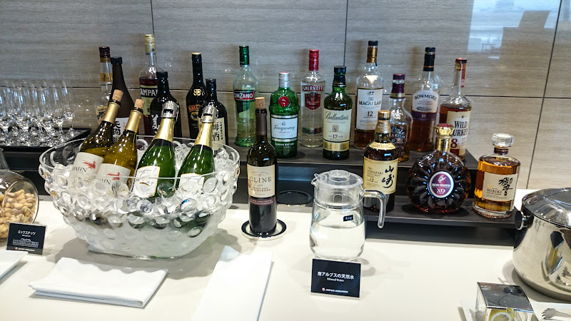 JL%252520F%252520HND LHR 31 - REVIEW - JAL First Class Lounge, Tokyo Haneda Airport