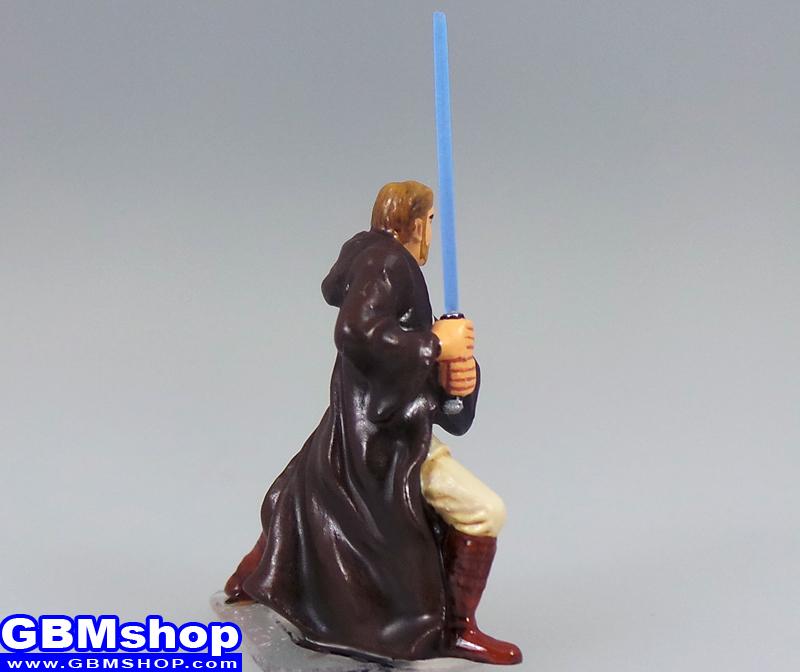 star wars miniature Imperial Assault General Obi-Wan Kenobi #12 Clone Strike Star Wars Miniatures Custom Customize and Painting