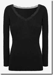 Uniqlo Princess Tam Tam for Heatech long sleeved top