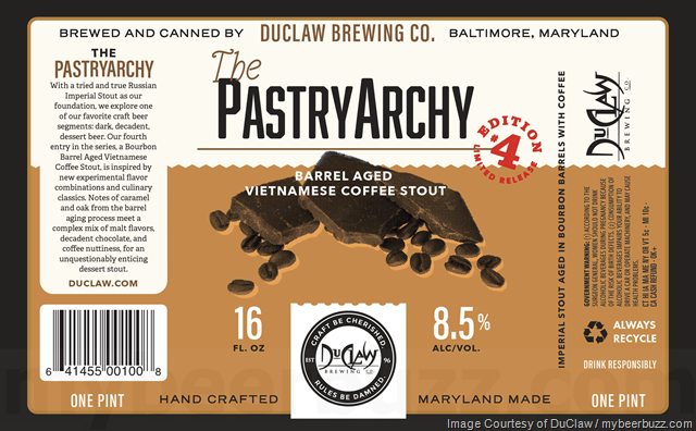 DuClaw The PastryArchy - Barrel-Aged Vietnamese Coffee Stout
