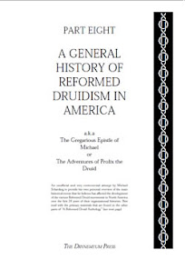 Cover of Reformed Druids's Book Anthology 08 A General History