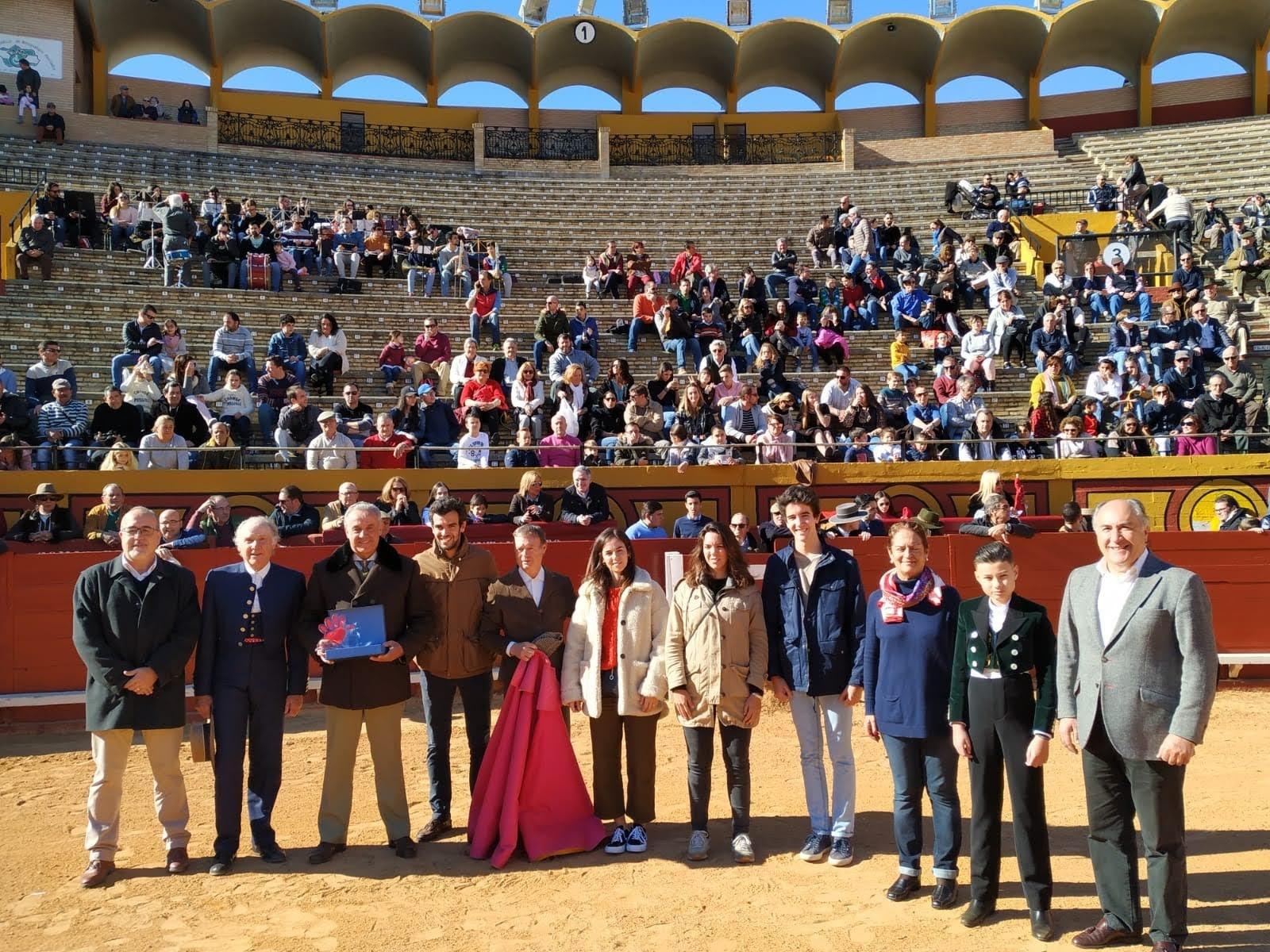 Celebrada la tradicional clase magistral taurina benéfica de Miguelete