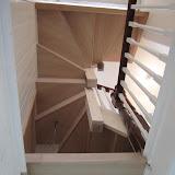 Stair Panelling In Oak