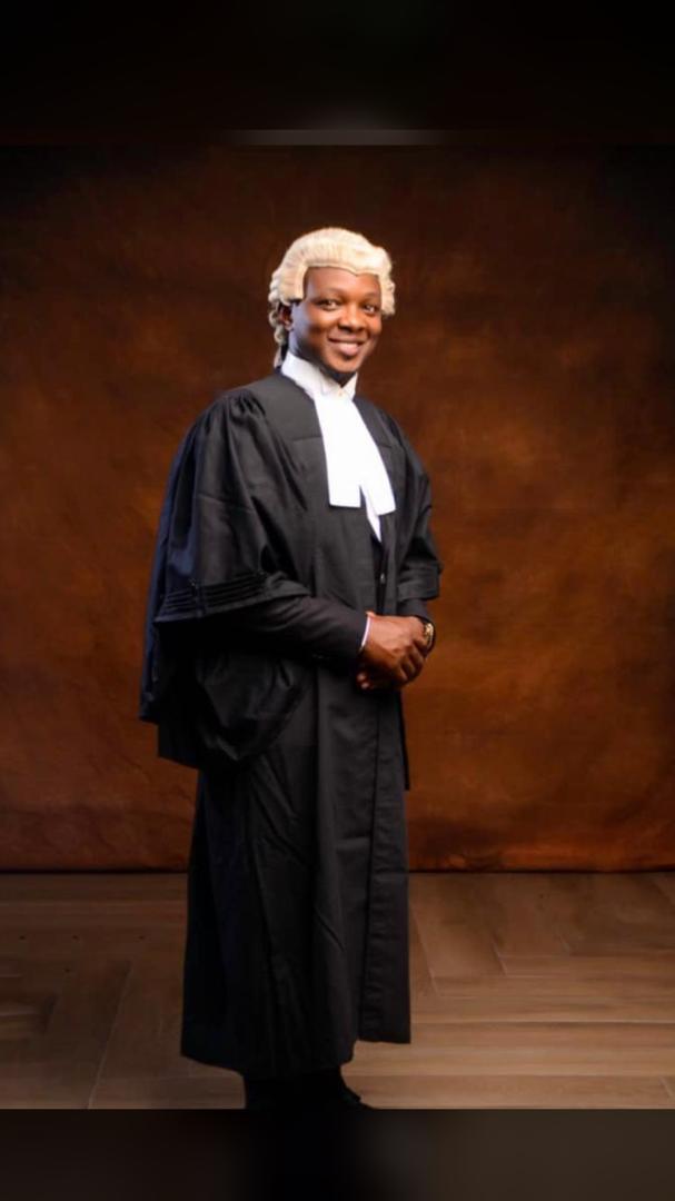 Senator Tokunbo Abiru Congratulates Legislative Aide, Hamzat Jimoh On His Call To Bar ~Omonaijablog