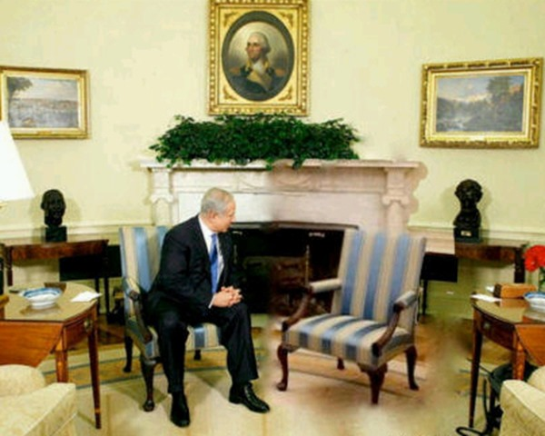 bibi-meets-with-obama-empty-chair