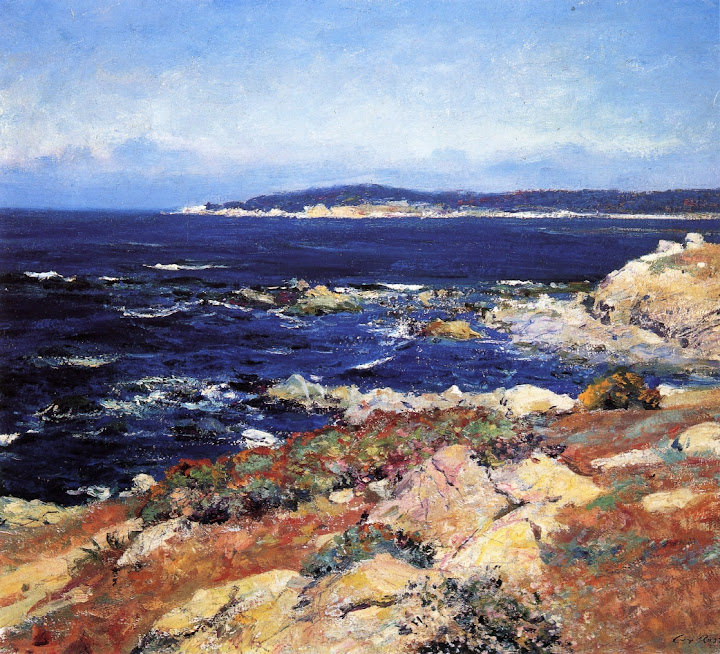 Guy Orlando Rose - Carmel Seascape