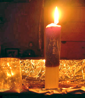 Reversing Double Action Candle, Candle Magic