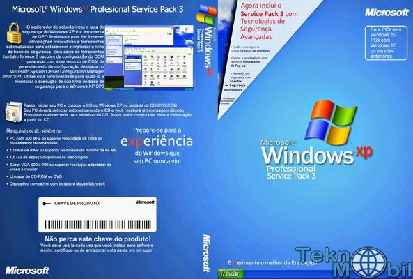 Windows XP Professional Sp3 Türkçe Full