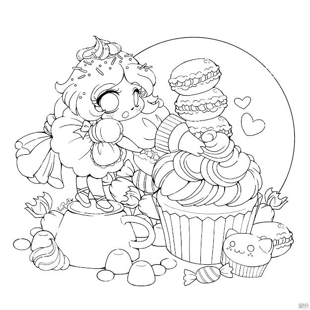 Chibi Frosting Fairy Girl