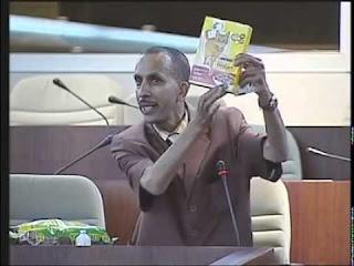 Un pitre à l'Assemblée nationale (vidéo)