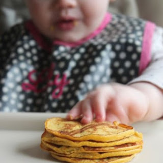4 Ingredient Pumpkin Pancakes for Baby