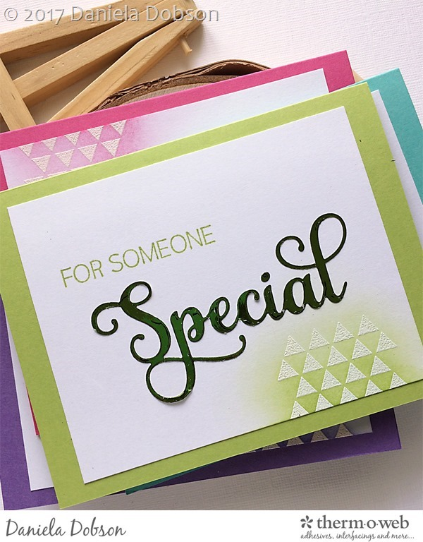 Thank you card set close 2 by Daniela Dobson