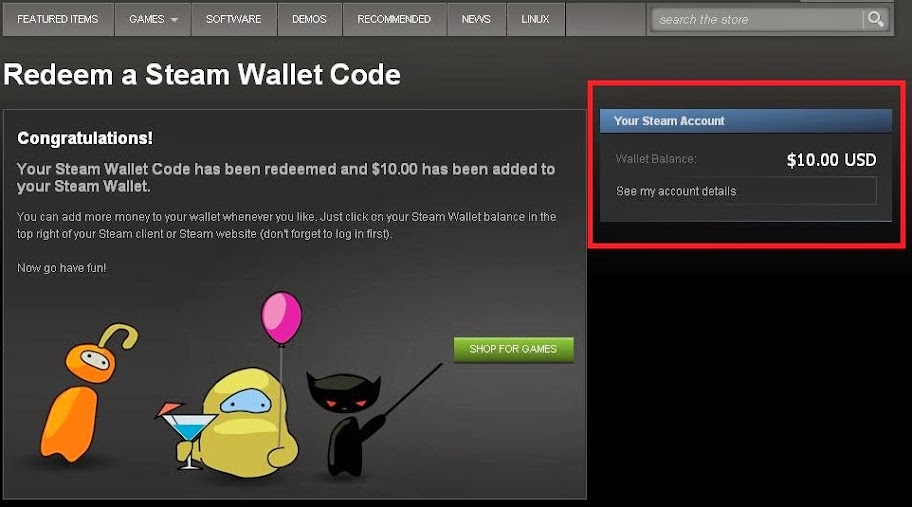 Steam Wallet Code - Step by step pictured guide