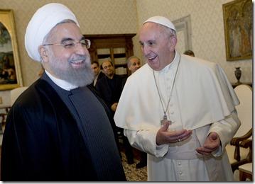 APTOPIX Vatican Pope Iran