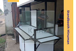 Produsen Stanbooth Minuman, Yuk Jualan Minuman kekinian pakai booth dari alumunium.id