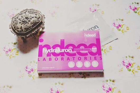 Charrlottelouise - fashion, beauty and lifestyle: Hydraluron moisture boosting mask