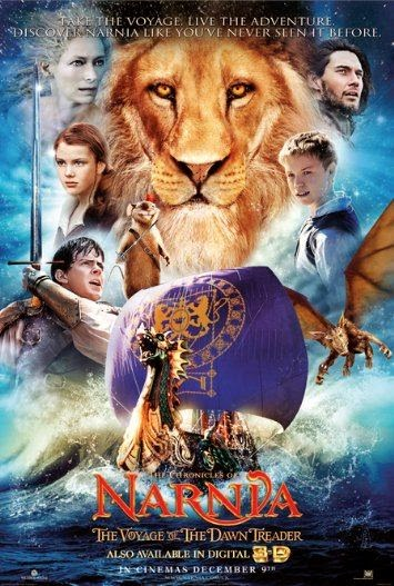 Poster Of The Chronicles of Narnia 3 (2010) Full Movie Hindi Dubbed Free Download Watch Online At Alldownloads4u.Com