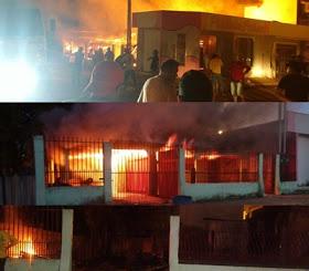 Mulher é presa suspeita de atear fogo em residência em Novo Progresso