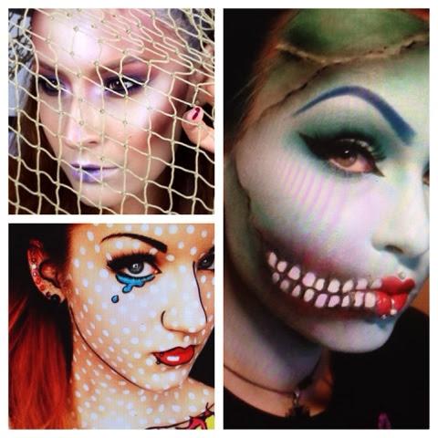 peace love  makeup halloween makeup ideas