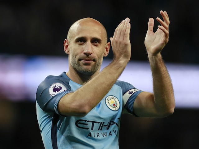 Ex-Man City And Argentina Defender, Pablo Zabaleta Confirms Retirement From Football At 35
