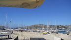 View over Leros marina