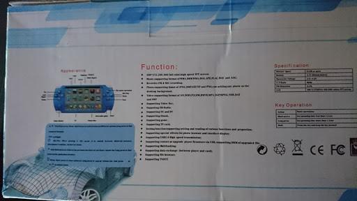 "DSC 1415 thumb%25255B5%25255D - 【ガジェット】怪しさ満点!「4.3"" Game Console MP5 Media Player (8GB)」レビュー。中華製PSP風レトロゲームポータブル機【レトロゲーム/パチモノ】"