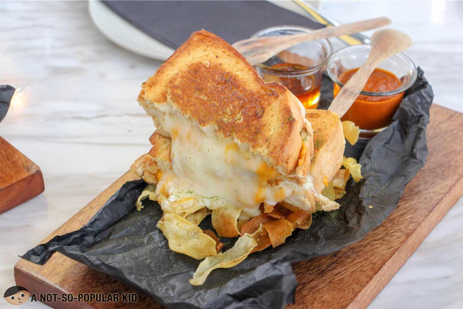 Classic Grilled Cheese of Melt Grilled Cheesery, Alabang