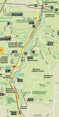 CVNP Day 1 Map