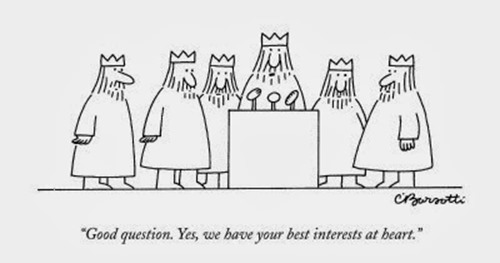 charles-barsotti-good-question-yes-we-have-your-best-interests-at-heart-new-yorker-cartoon