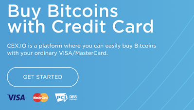 Buy Bitcoin in California with credit card from Cex.io: