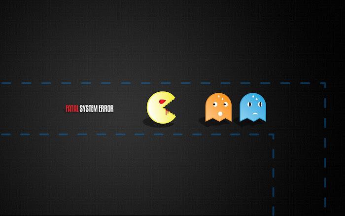 Hình nền đa phong cách về game Pacman - Ảnh 3