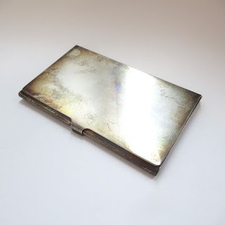 Stering Silver Business Card Holder