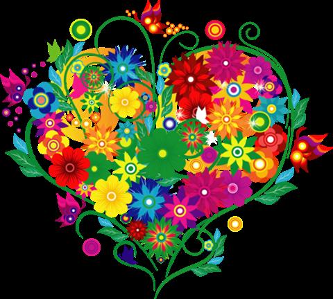 coeurs-fleurs