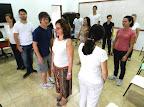 Educadores da Associação Barreiros - Formação para trabalho corporal (jan/2013)