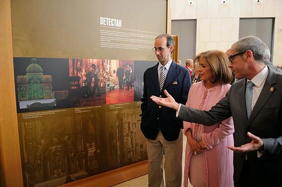 Abierta al público la exposición 'Cervantes a la luz'