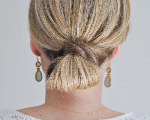 Trendy, creative and easy  updos for hair 2017 3