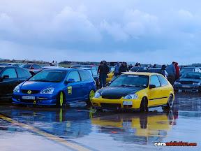 Honda Civic EP3 and EK9