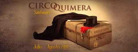 Raúl Alegría vuelve con el CIRCO QUIMERA