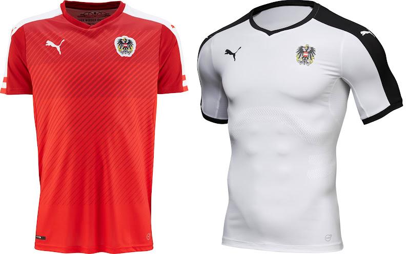 Austria Euro 2016 Kits (released). Puma officially ... a80b12594