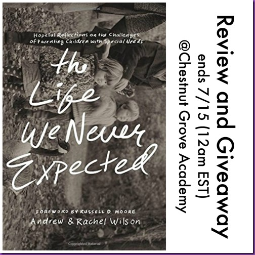 life we never expected giveaway