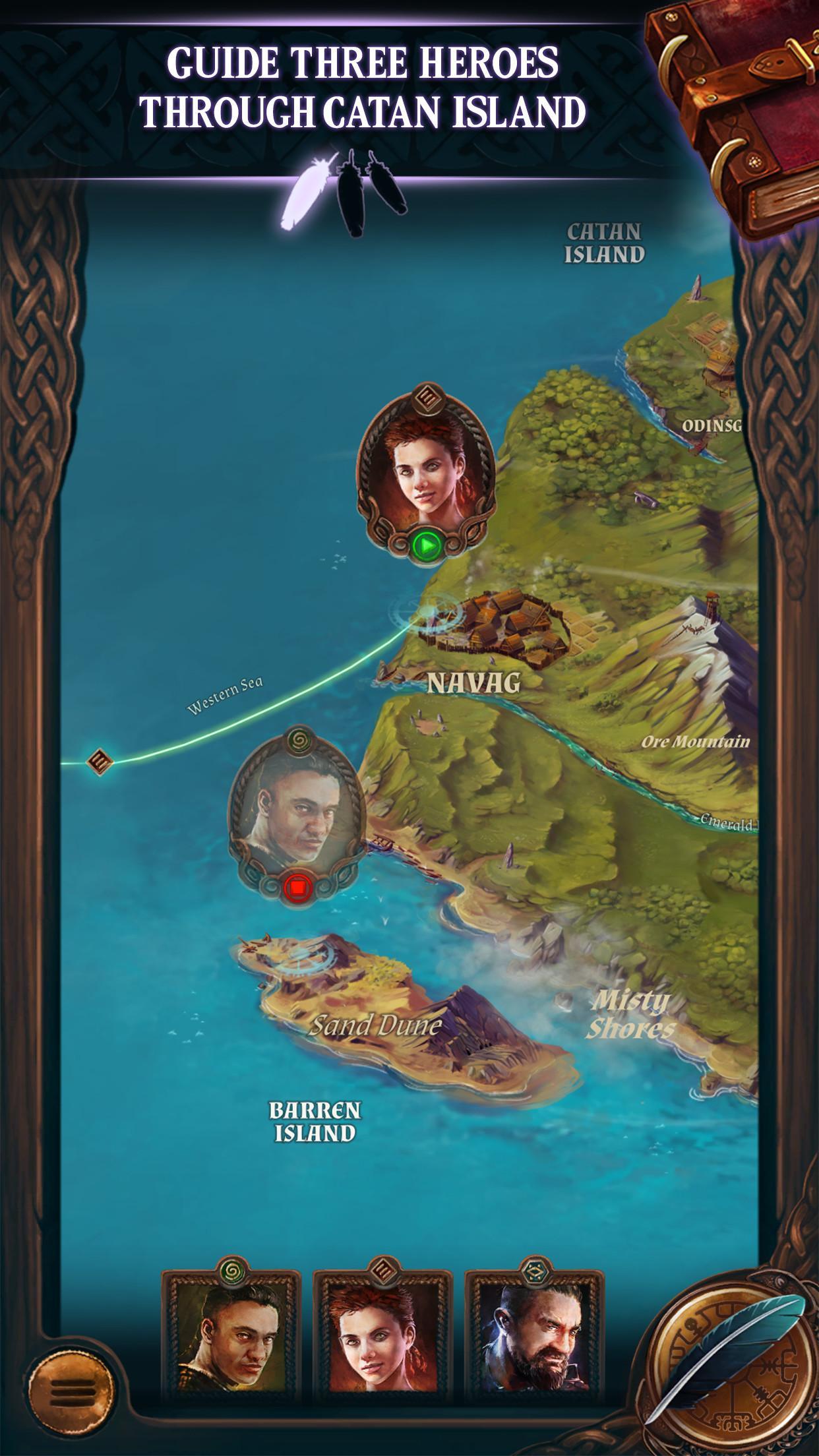 Catan Stories: Legend of the Sea Robbers screenshot #4