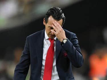Unai Emery at Emirates