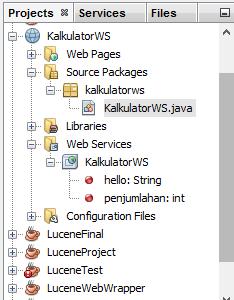 langkah membuat web service di java