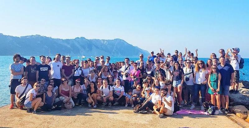 gruppo_molo Portonovo open day con Yallers Marche 23-09-18