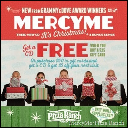 MercyMe Pizza Ranch